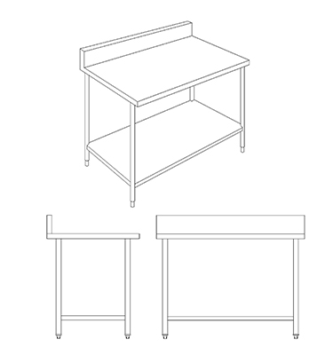 WorkTable-1Shelf
