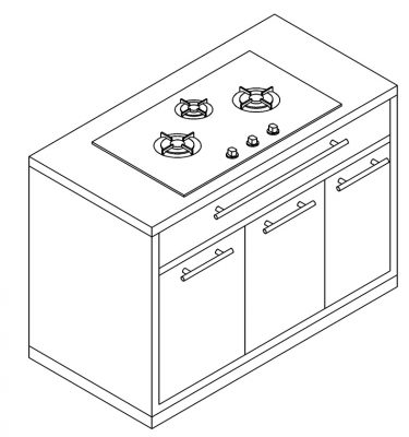 CABINET-STOVE
